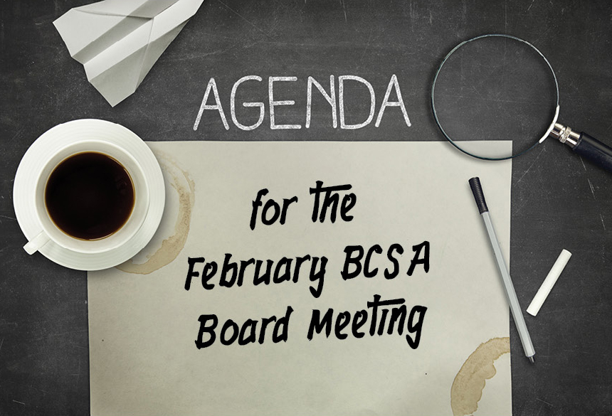 Download a Copy of the Agenda for the Next Board Meeting